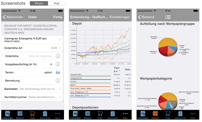 FinancialArchitects AG App